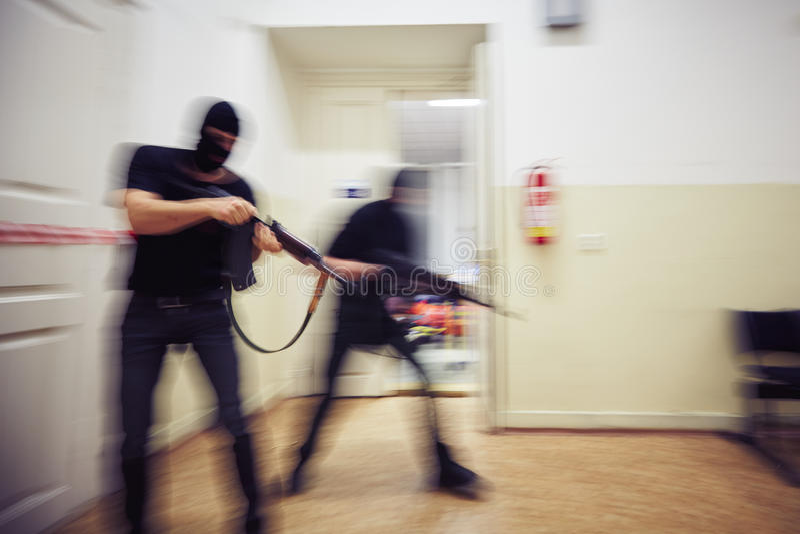террористы стоковые изображения