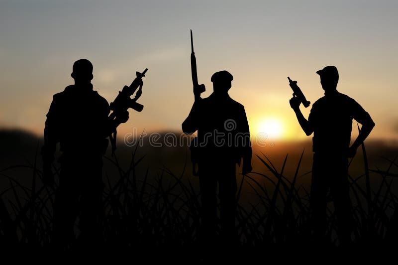 Террорист или терроризм стоковые изображения rf