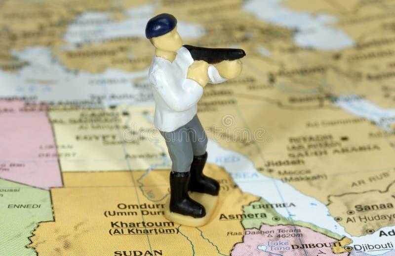 террорист стоковое изображение rf