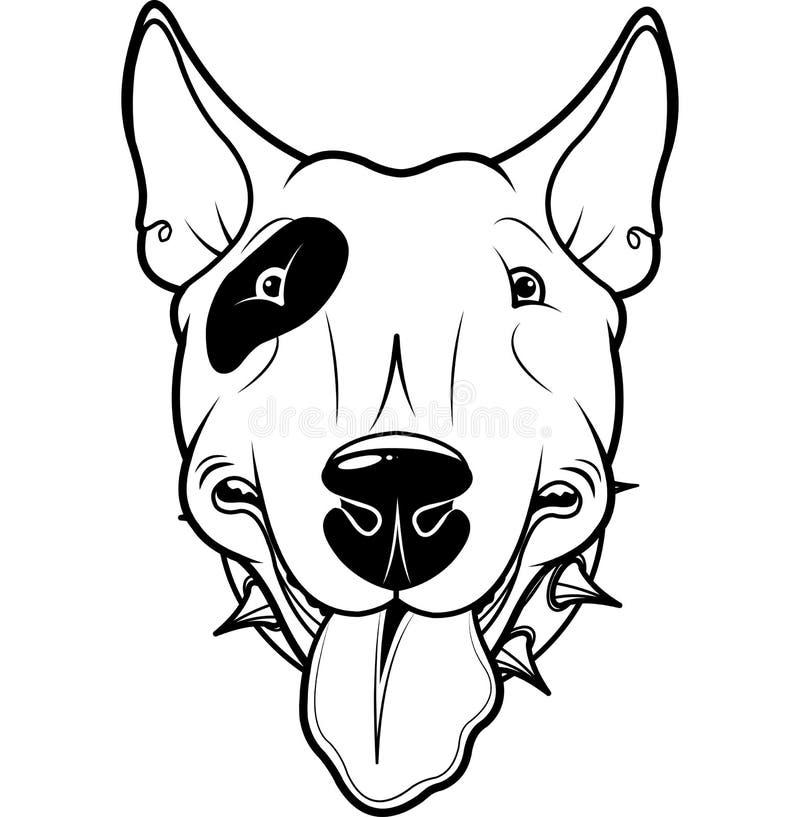 Терьер Bull бесплатная иллюстрация
