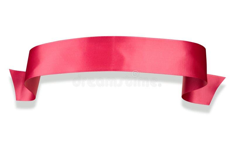 тесемка знамени розовая стоковые фото