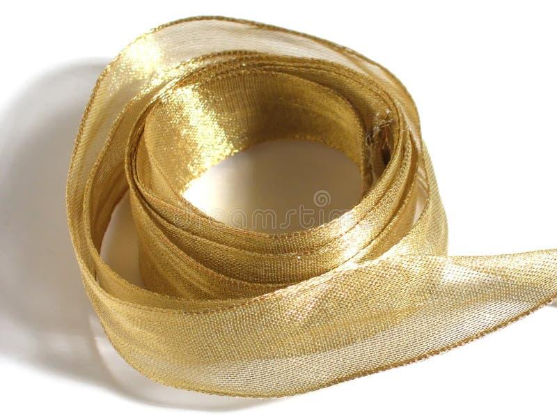 тесемка золота стоковые фото