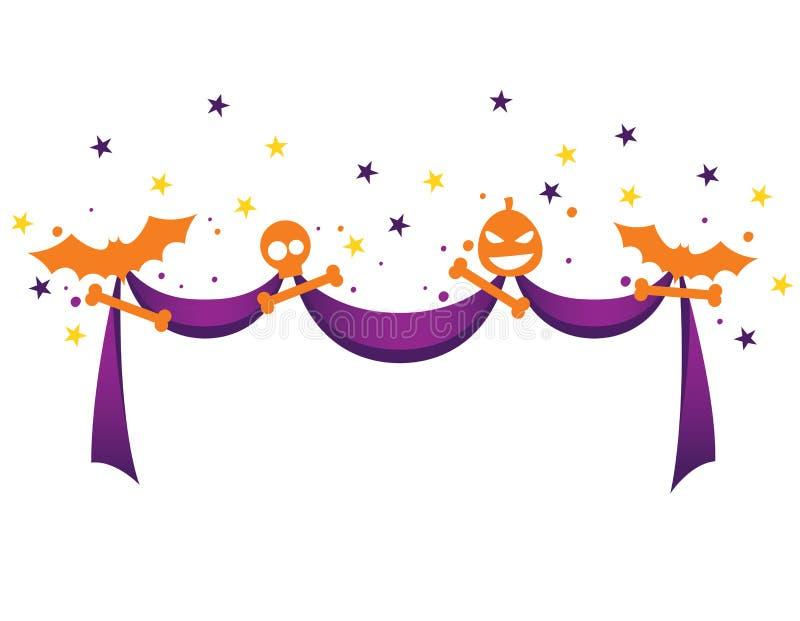 Тесемка на Halloween бесплатная иллюстрация