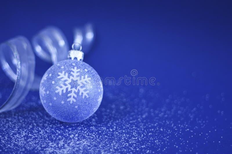 тесемка рождества bauble стоковое фото rf