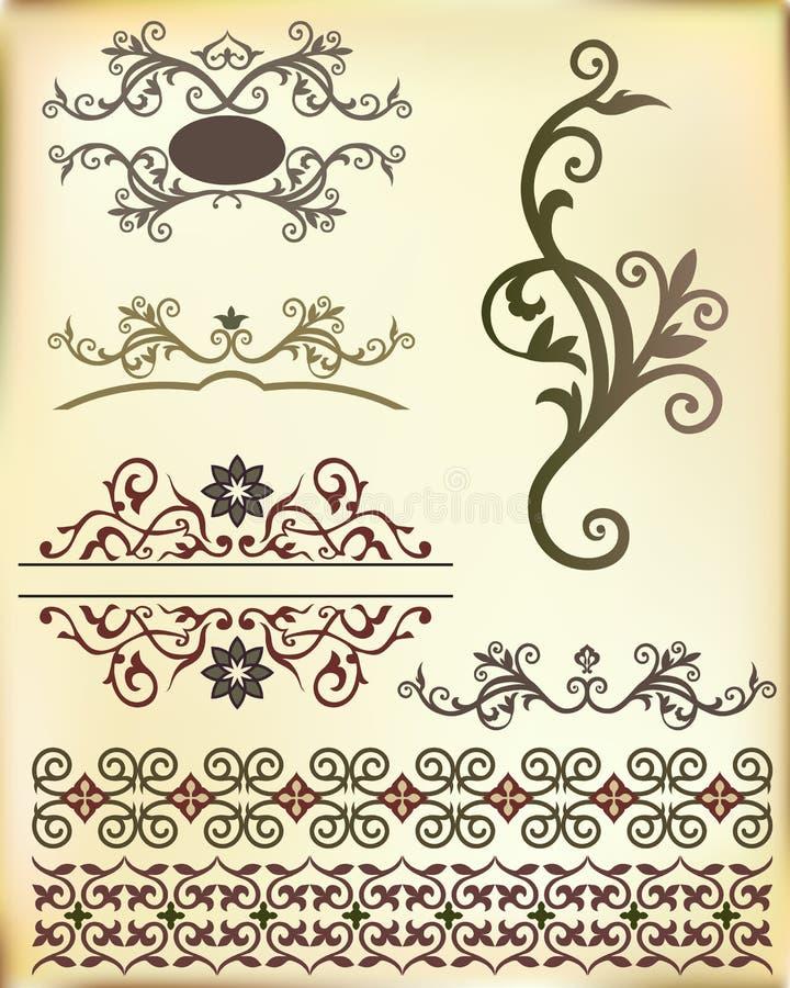 Тесемка ornament-04 иллюстрация штока