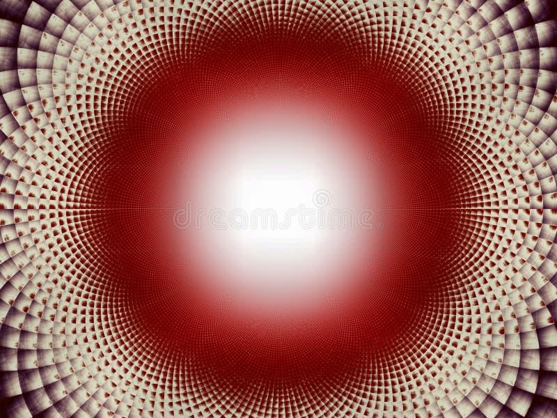 Тесселяции к сферически темно иллюстрация штока