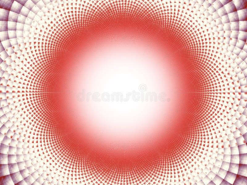 Тесселяции к сферически иллюстрация вектора