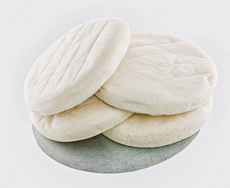 Тесто пиццы стоковое изображение