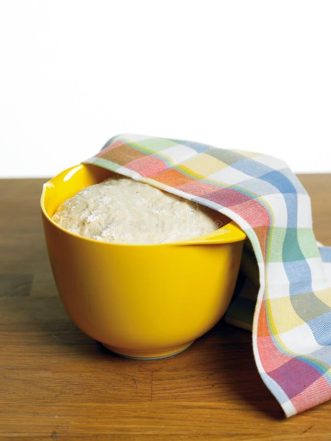 тесто хлеба стоковое изображение