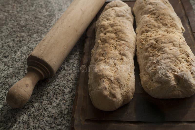 Тесто хлеба стоковое фото rf