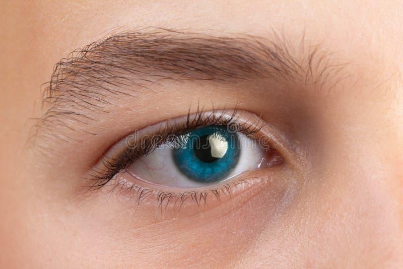 Тест офтальмологии зрения глаза и здоровье зрения, алфавит стоковое фото