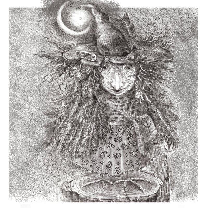 Тетенька Ворона стоковое изображение