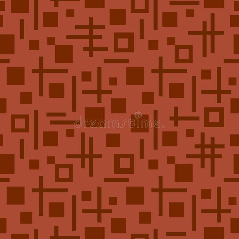 Тетрагональная безшовная картина стоковое фото rf