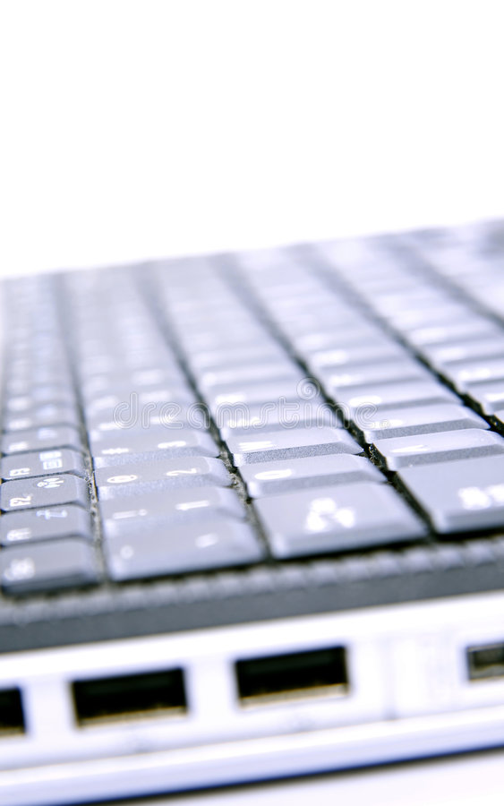 тетрадь клавиатуры стоковые изображения rf