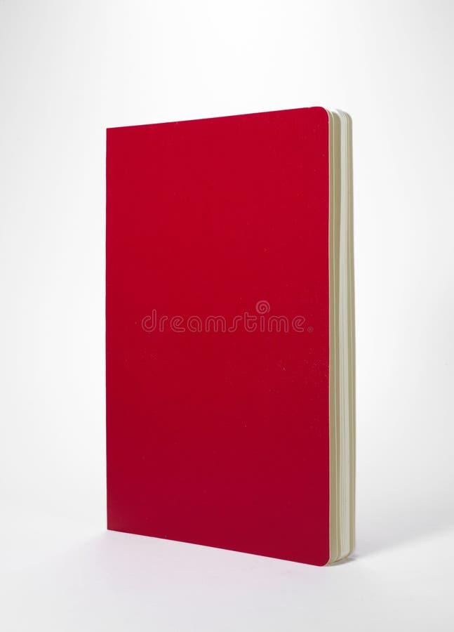 Тетрадь на белой предпосылке стоковое фото rf