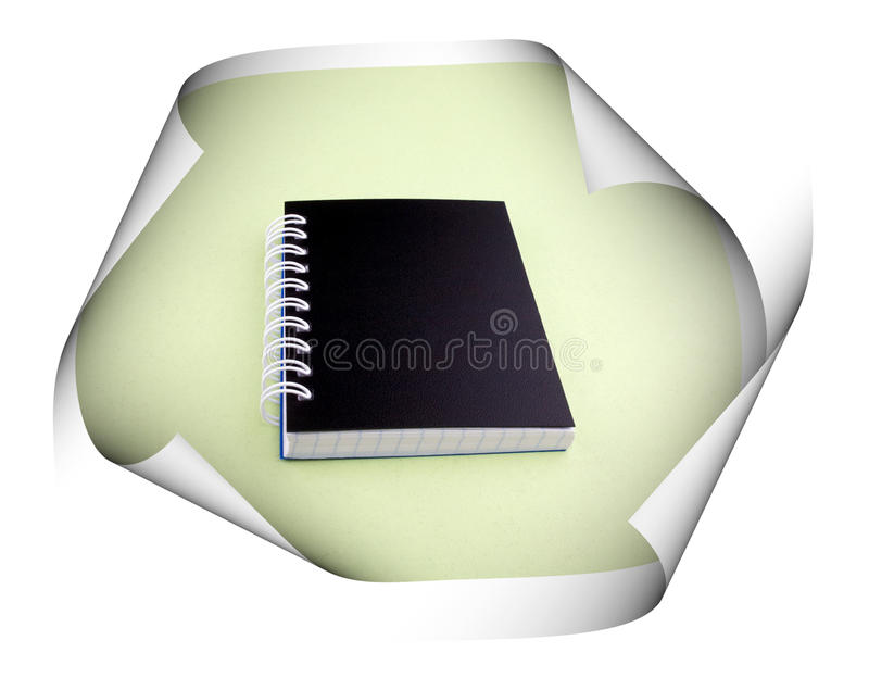 Тетрадь стоковое изображение