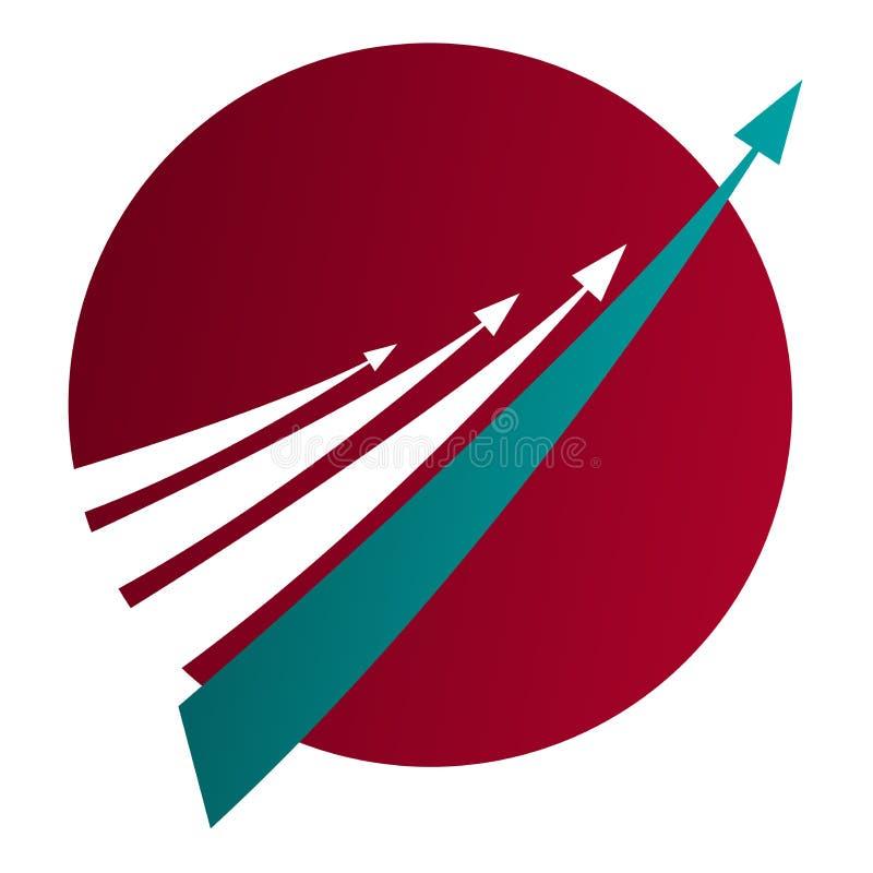 техник логоса связи высокий иллюстрация вектора