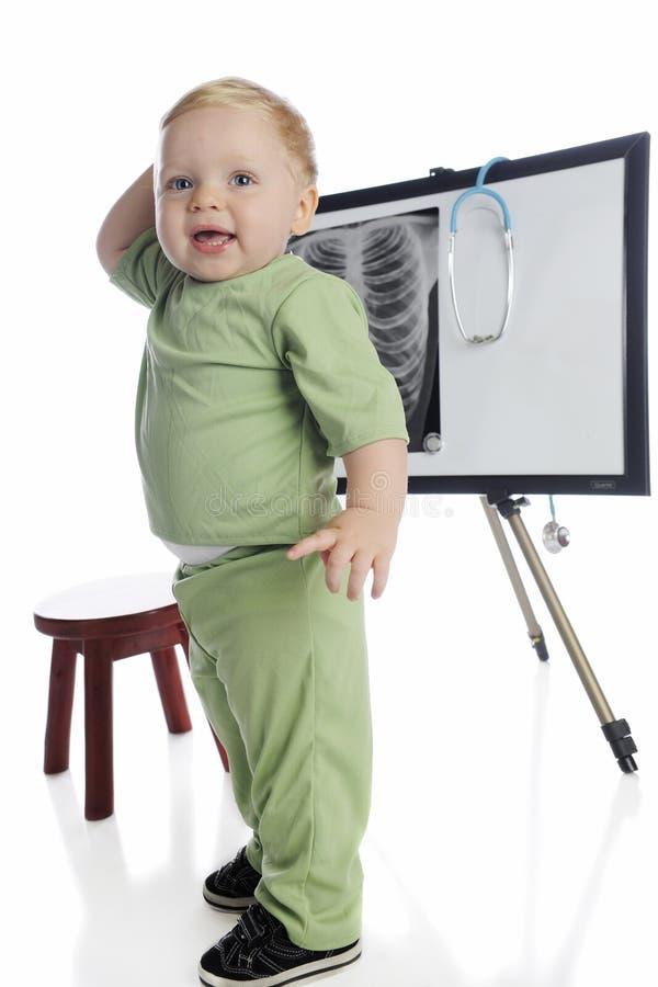 Техник малыша стоковое изображение rf