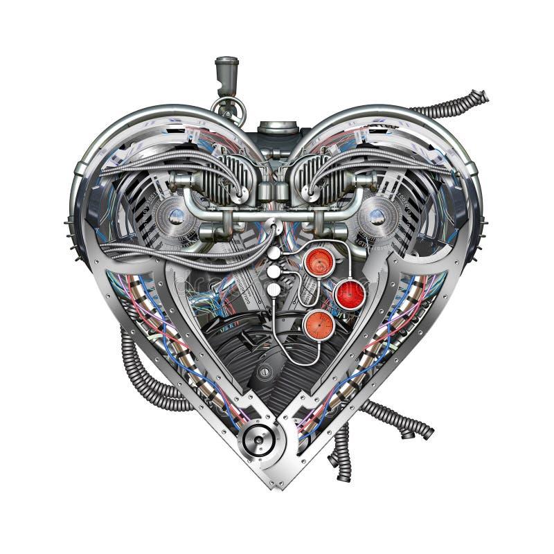 картинки сердце с мотором давида