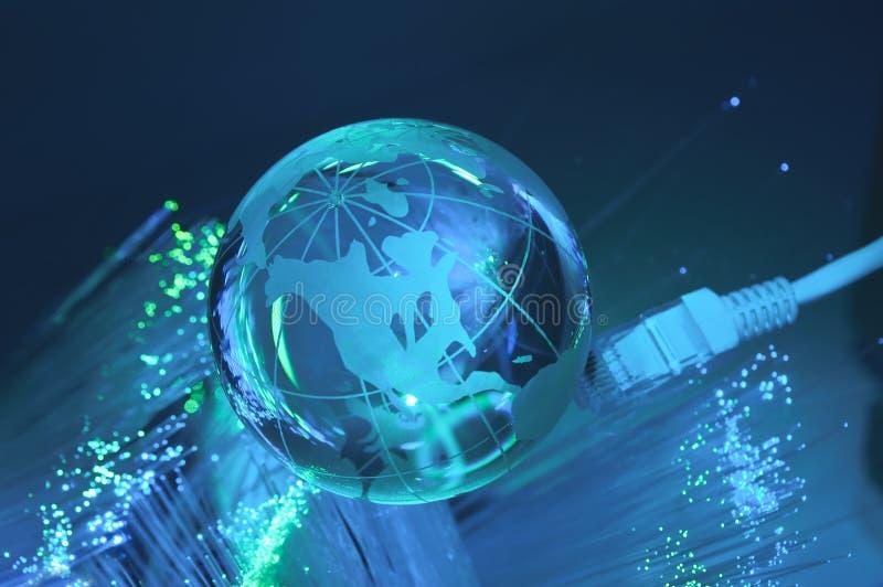 технология глобуса земли стоковая фотография