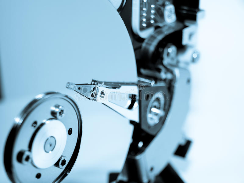 технология диска трудная стоковые фото