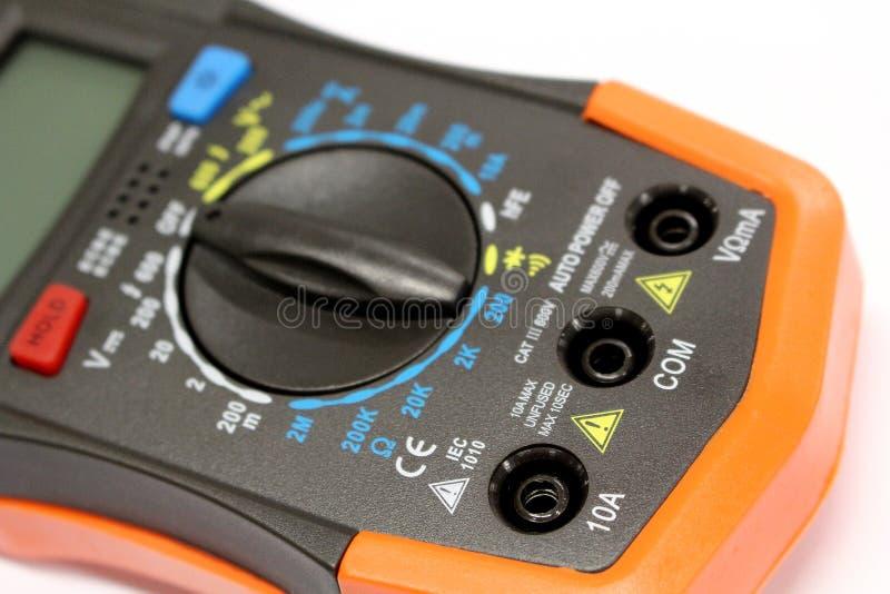 Технология - измеряющий прибор, датчик стоковые фотографии rf