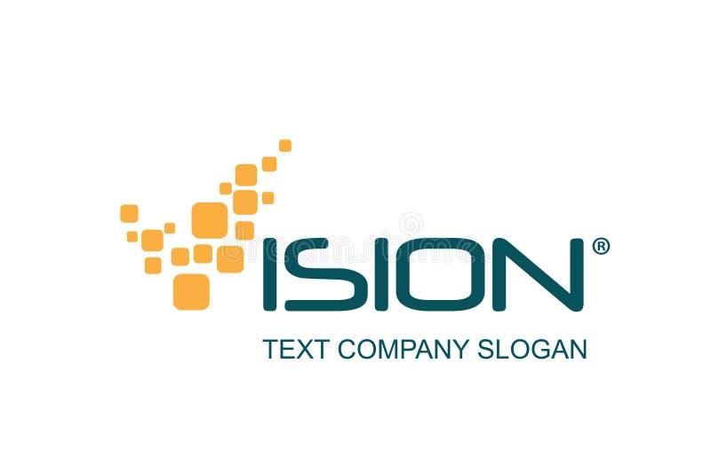 технология логоса конструкции иллюстрация вектора