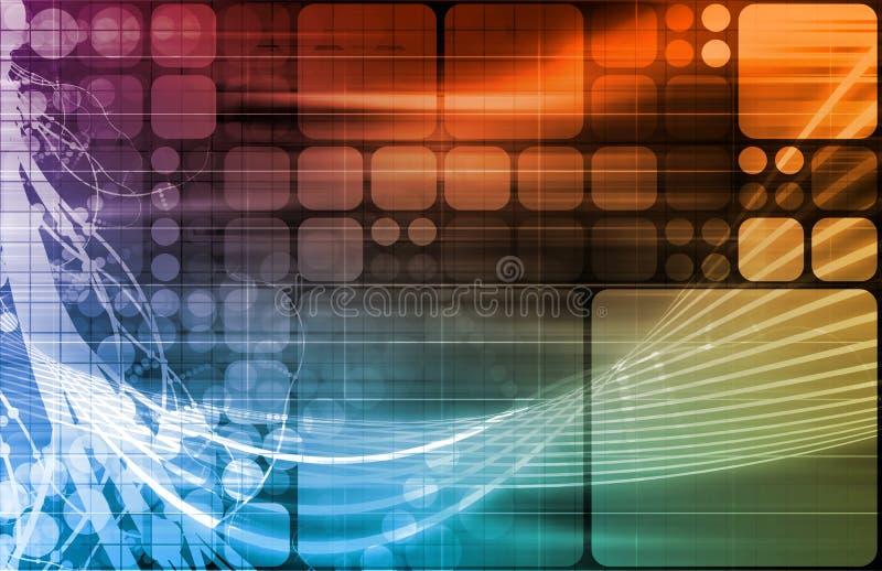технология науки иллюстрация вектора
