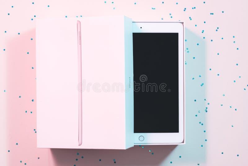 Технология планшета ipad Яблока мобильная стоковое фото
