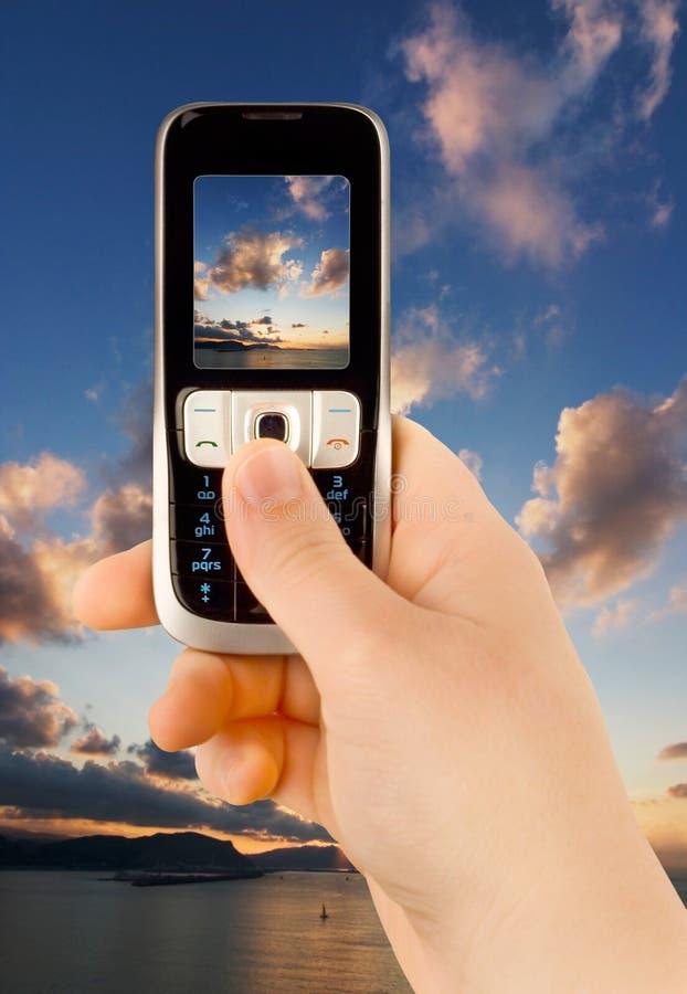 технология телефона связи стоковое изображение rf
