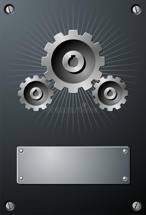 технология шестерни иллюстрация штока