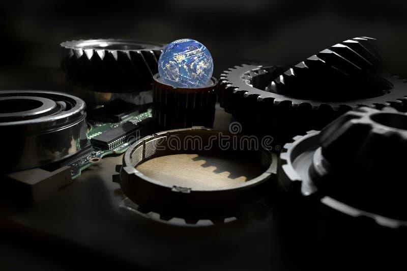 Download технология иллюстрация штока. иллюстрации насчитывающей двигатель - 6852999