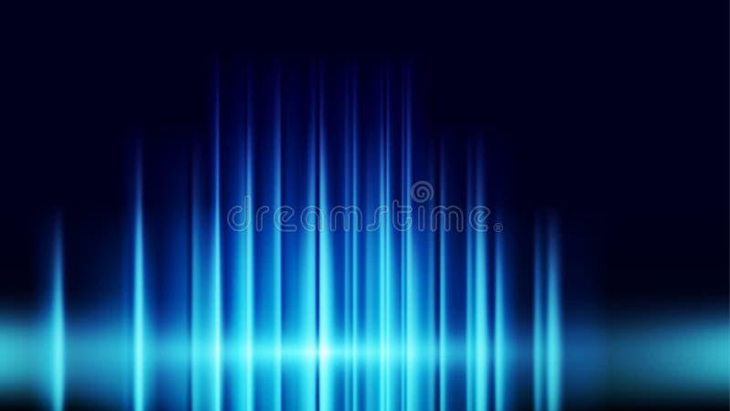 технология hitech digital network technology абстрактная фоновая концепция на фоне темно-синего фона Векторная иллюстрация дизайн иллюстрация вектора