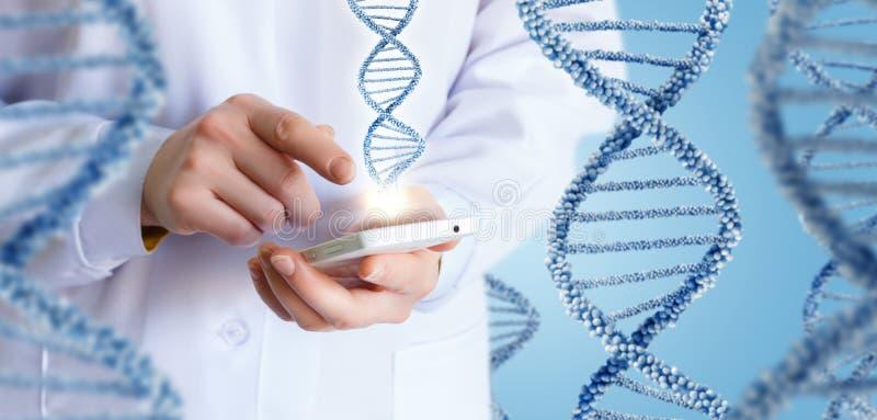 Технологии в науке и медицине стоковое изображение