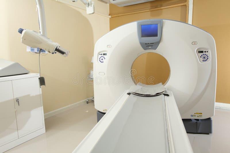 Технология выдвижения развертки CT для медицинского диагноза стоковое изображение rf