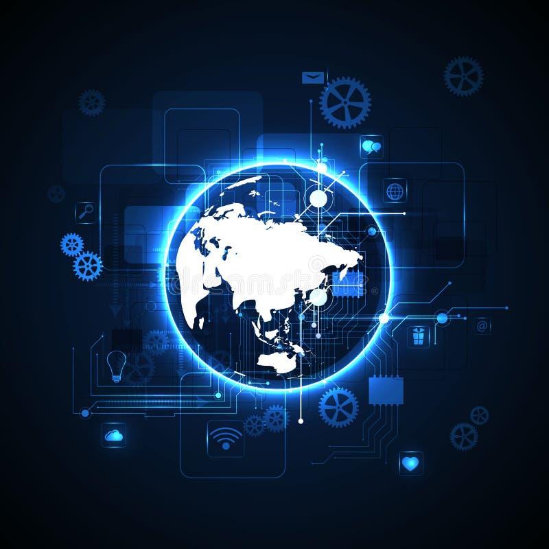Технология интернета стоковое фото rf