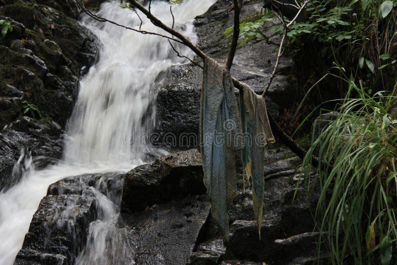 Течь воды стоковое изображение rf