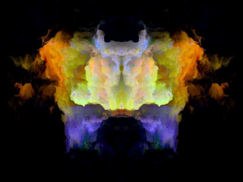 Download Телевизионная испытательная таблица Rorschach цвета Иллюстрация штока - иллюстрации насчитывающей психология, ярко: 81803802