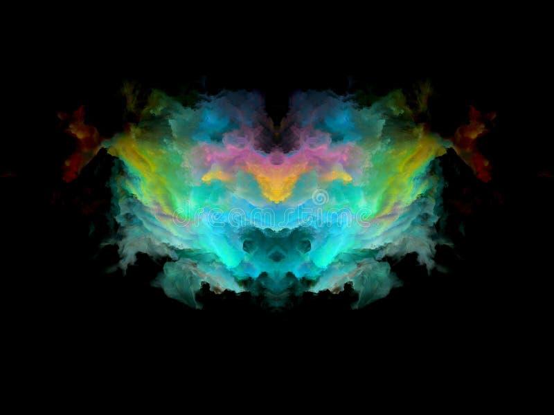 Download Телевизионная испытательная таблица Rorschach цвета Иллюстрация штока - иллюстрации насчитывающей цветасто, элемент: 81803835