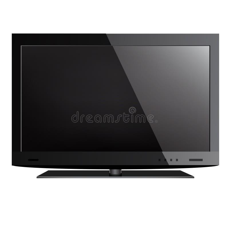 Телевидение иллюстрация штока