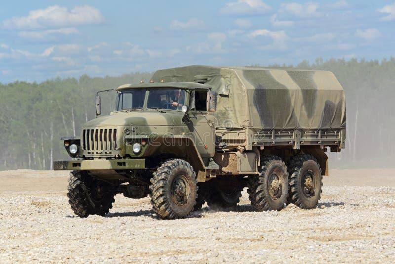 Тележка Ural-4320 стоковые фотографии rf