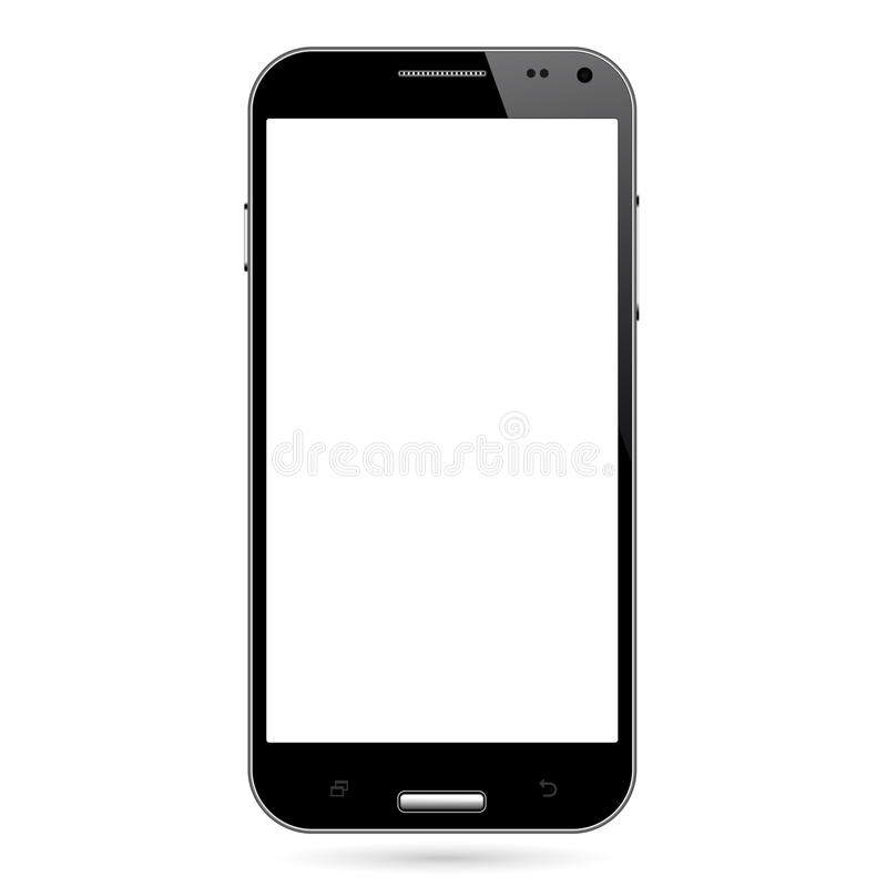 Телефон андроида умный иллюстрация вектора