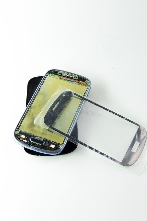 Телефон демонтирован стоковое изображение