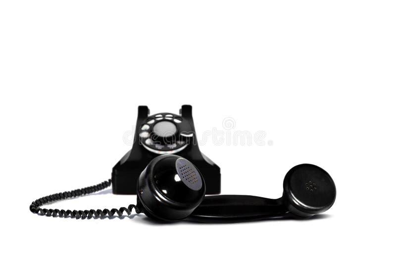 телефон приемника ретро стоковое фото rf