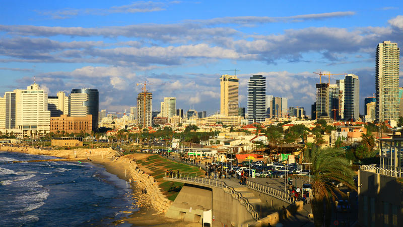 Тель-Авив стоковая фотография rf