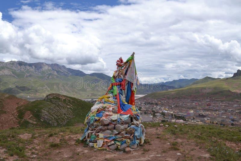 тибетец буддиста зодчества стоковая фотография