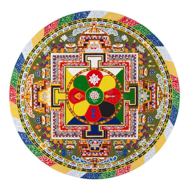тибетец мандала стоковое фото rf
