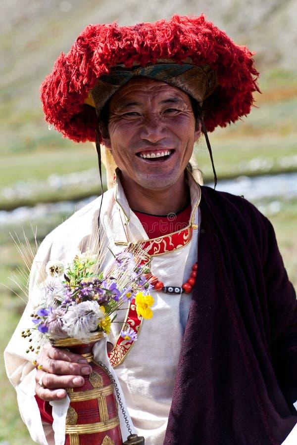 Download Тибетский монах редакционное фотография. изображение насчитывающей праздник - 27271977