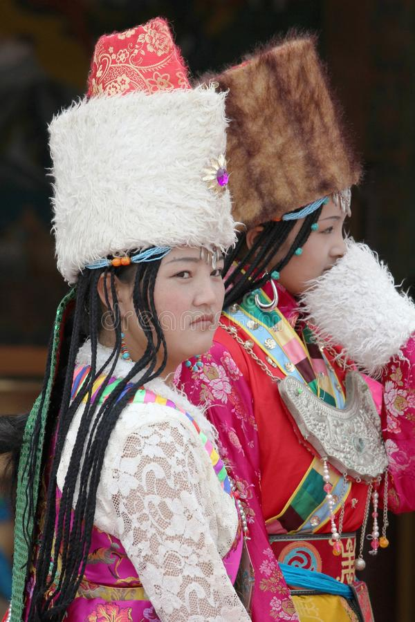 Тибетский фестиваль стоковые изображения