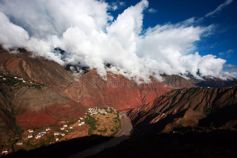 Тибет стоковое изображение